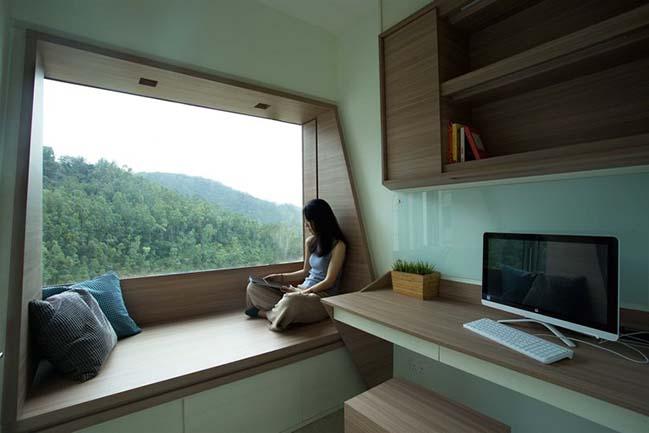 Small apartment in Hong Kong by Sim-Plex