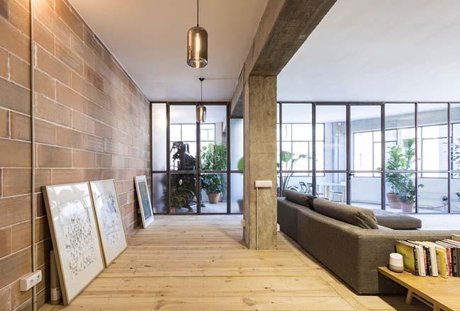 Industrial loft in barcelona by habitan architecture - Loft industrial barcelona ...