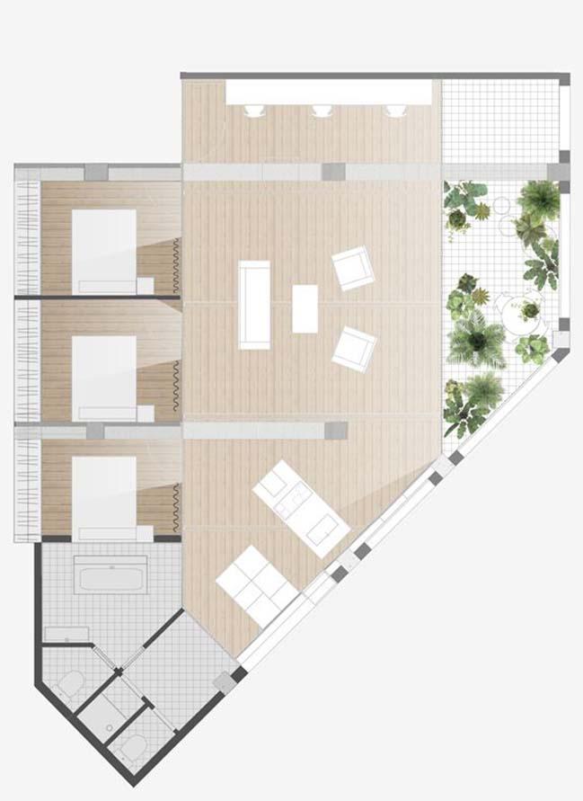 Industrial Loft in Barcelona by Habitan Architecture