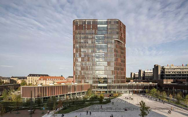 The Maersk Tower in Denmark by C.F. Møller Architects