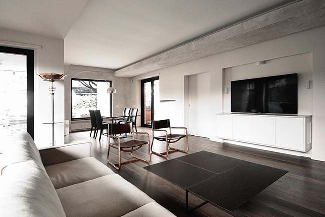 A-Type Penthouse in Rome by LAD