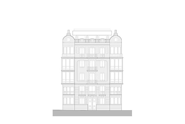 Office building 1905 in Valencia by Fran Silvestre Arquitectos