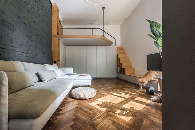 35m2 apartment in lviv by re design bureau for 35m2 apartment design