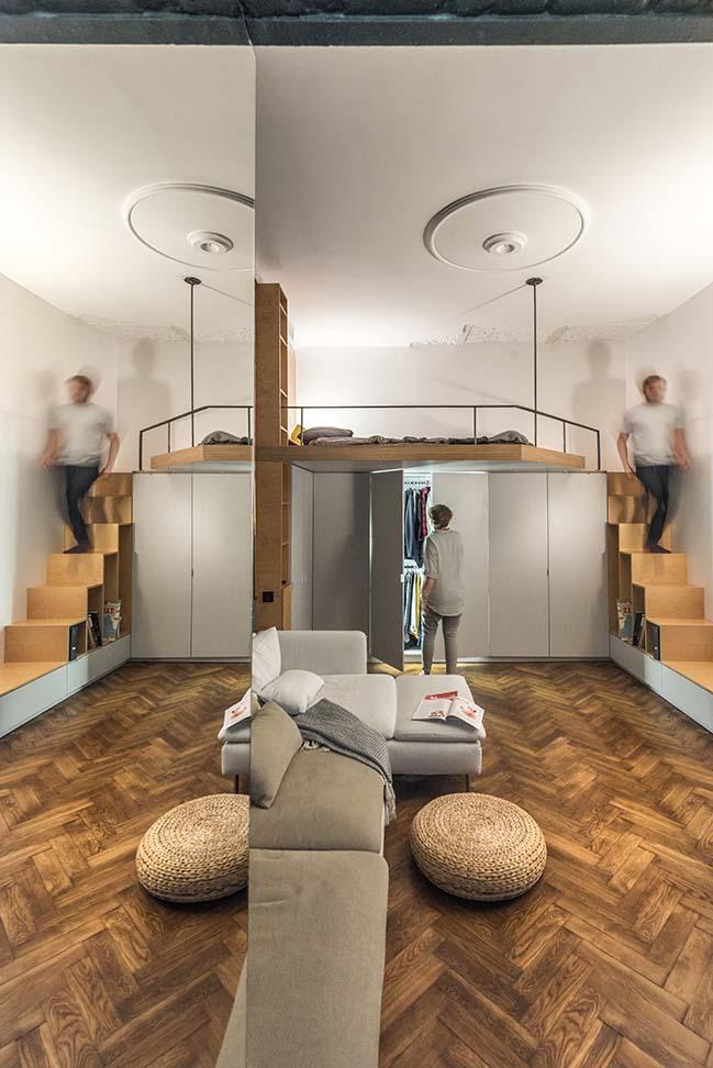 35m2 apartment in Lviv by RE + design bureau