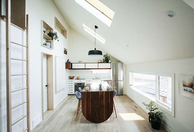 Withrow Laneway House by Studio North