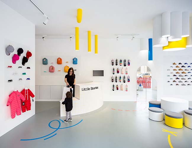 Little Stories Concept Store in Valencia by CLAP Studio
