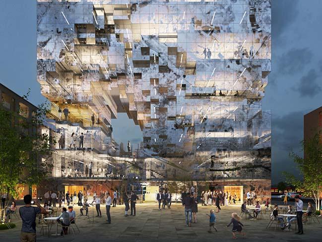MVRDV reveals Crystal Rock design for The Milestone in Esslingen