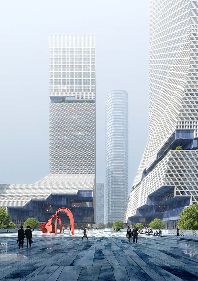 Global Headquarters Building of China Merchants Bank by Mecanoo