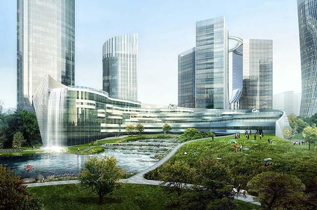 Xiantao Big Data Valley by progetto CMR
