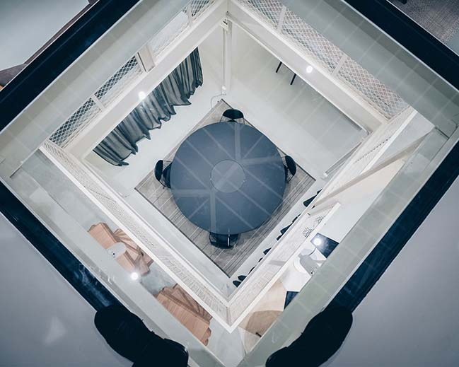 RBC furniture showroom in Paris by Jean Nouvel Design