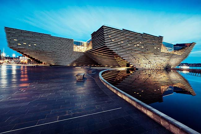 V&A at Dundee by Kengo Kuma and Associates