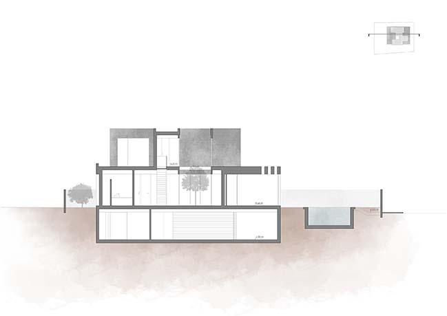 Modern house in La Cañada by Antonio Altarriba Arquitecto