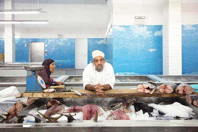 Muttrah Fish Market by Snøhetta