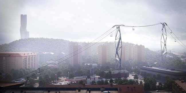 Gothenburg Cable Car by UNStudio