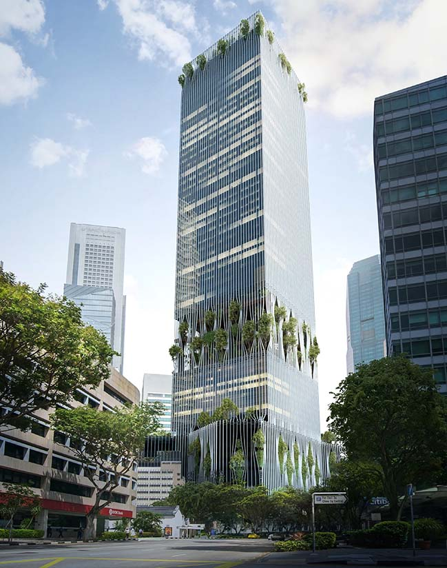 88 market street by carlo ratti associati and bjarke for Tallest hotel in singapore