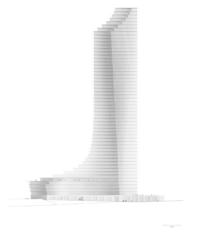 Elbtower-汉堡最高的建筑/ David Chipperfield Architects