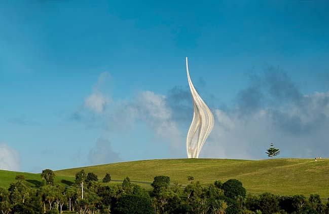 JACOB'S LADDER Gibbs Farm Sculpture Park by Gerry Judah