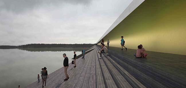Erik Andersson unveils bridge design for Kalix River