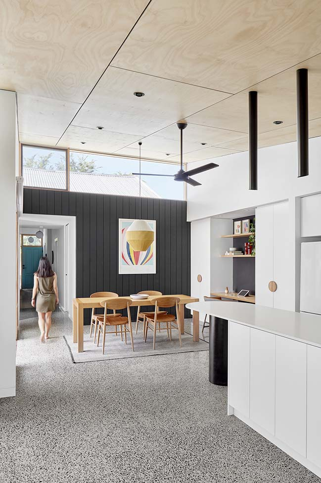 Lean-2 Northcote by Ben Callery Architects