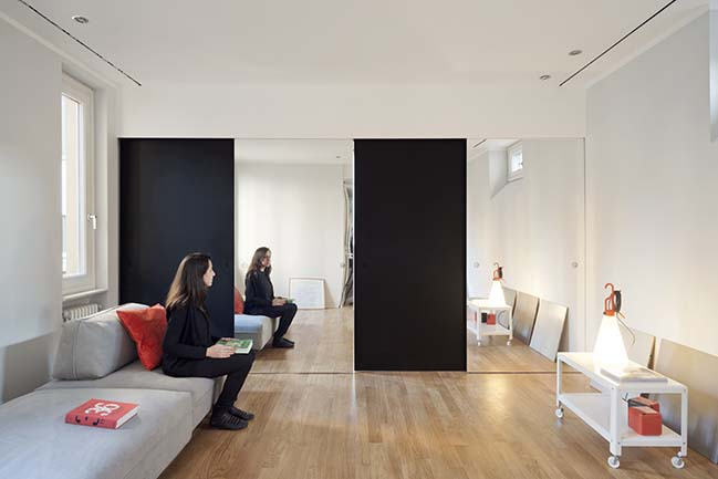 Black Mirror in Milan by GOSPLAN Architects