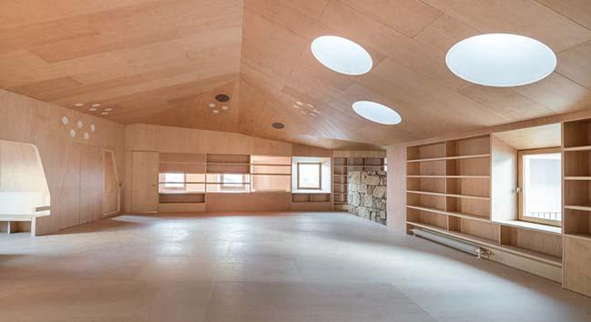 Baiona Public Library by Murado y Elvira Arquitectos