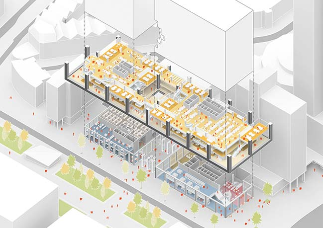 MVRDV win competition for 50,000sqm mixed-use building Weenapoint