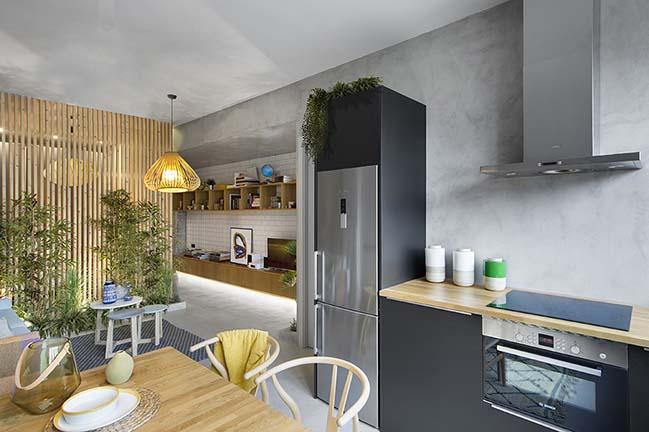 46sqm studio apartment in Poblenou by Egue y Seta
