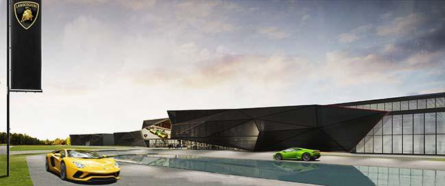 Compound Lamborghini in Bologna by Fabio Novembre Studio
