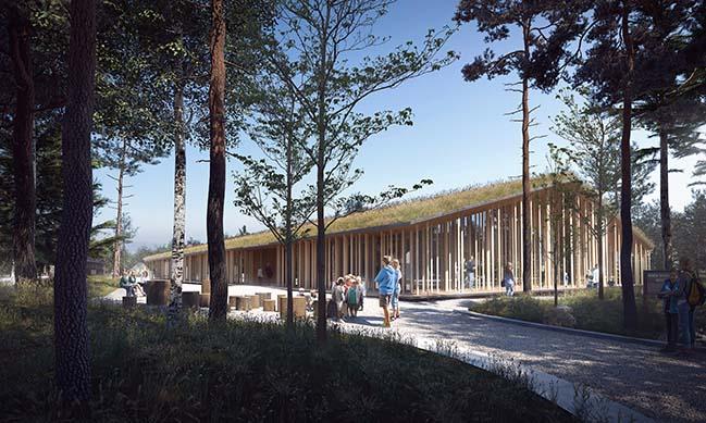 Forest Finn Museum in Norway by Lipinski Lasovsky Johansson