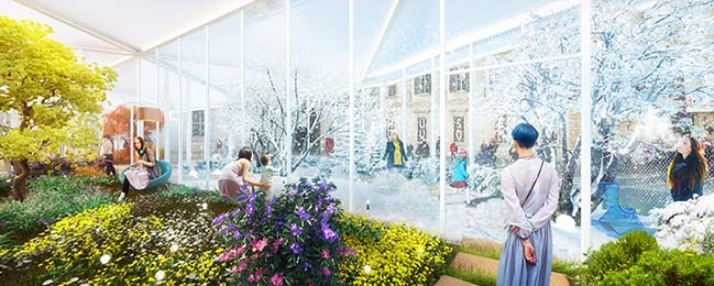 Four Seasons Pavilion in Milan by Carlo Ratti Associati