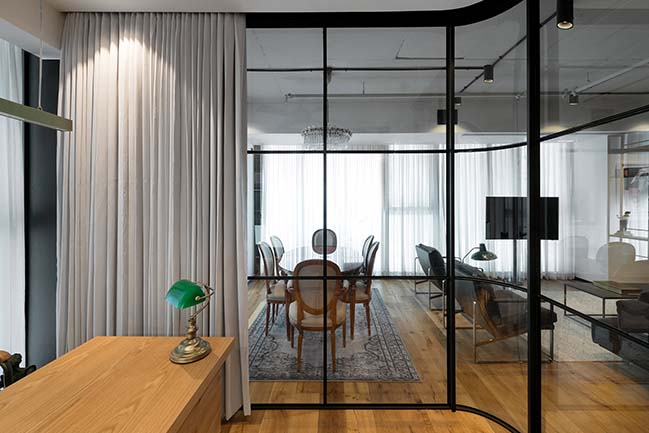 Tower Apt. No.1 by RUST architects