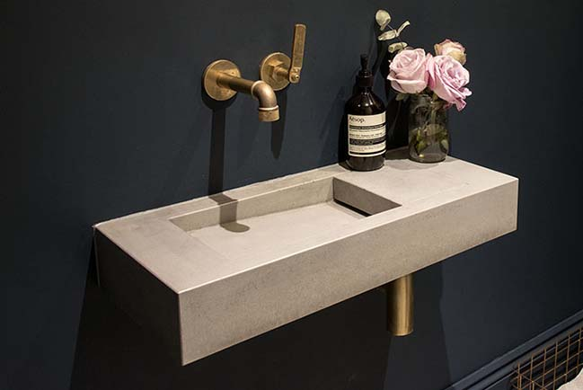 Kast introduces new range of patterned concrete basins