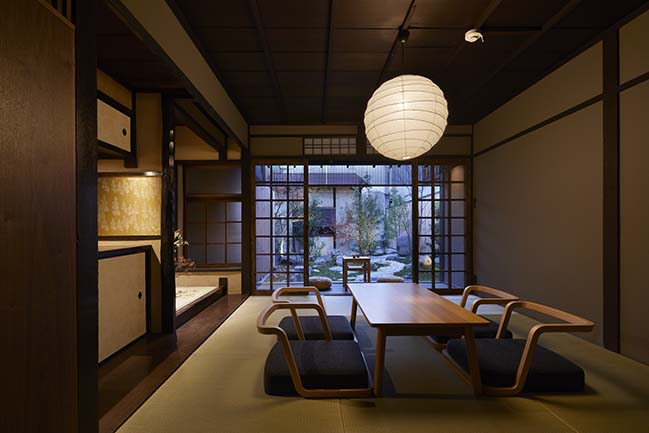 Guest House in Kyoto by B.L.U.E. Architecture Studio