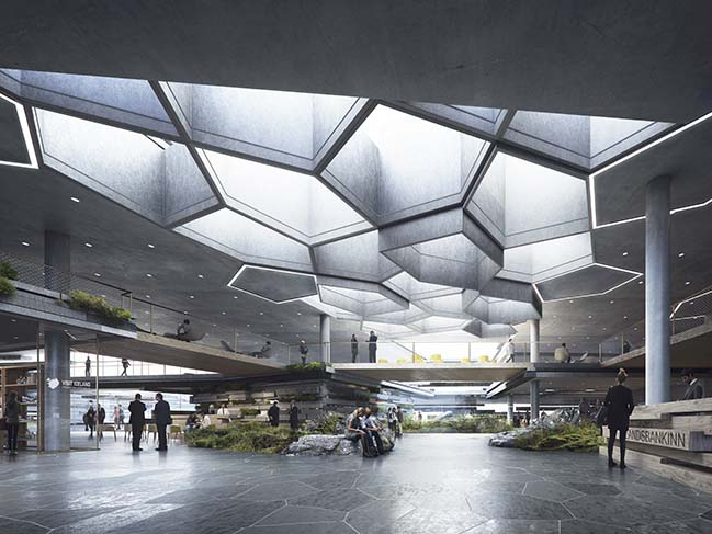 C.F. Møller Architects and Arkthing win competition in Iceland