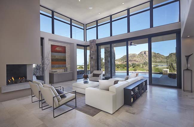 Villa at Danzante Bay by Kevin B. Howard Architects