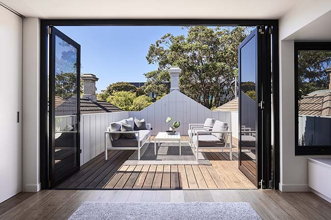 Albert Park Terrace by Dan Webster Architecture