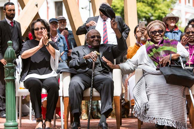 Snøhetta unveils A Monument for Archbishop Desmond Tutu