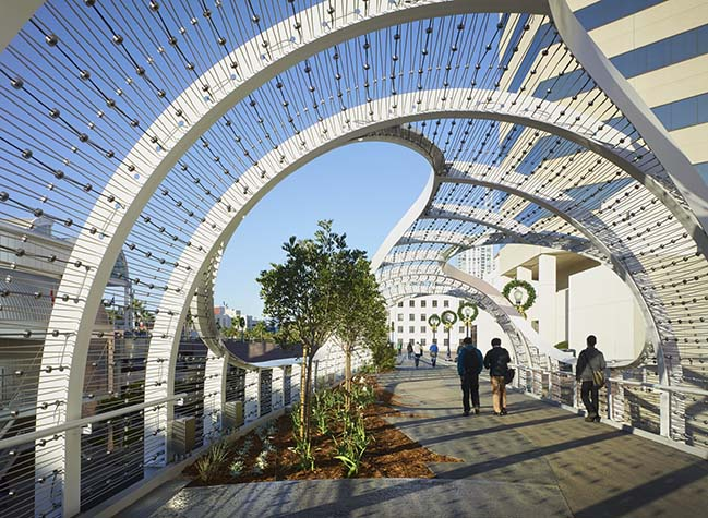 Rainbow Bridge in Long Beach by SPF:architects