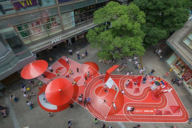 Red Planet in Shanghai by 100architects
