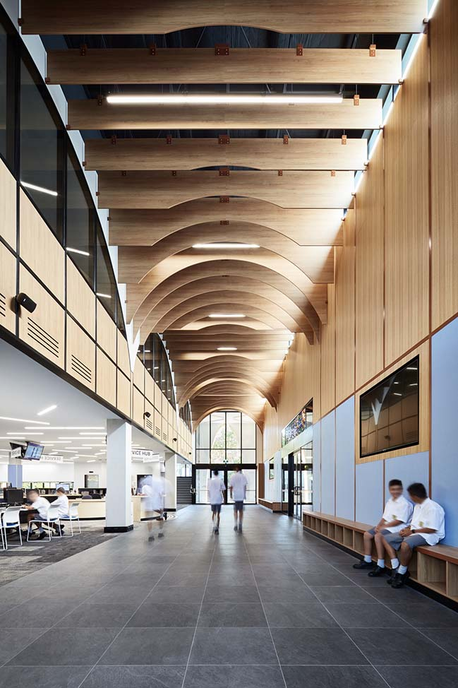 Parade College Nash Learning Center By Cht Architects