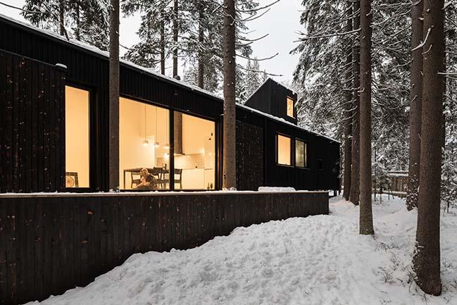 House in Roschino by AB CHVOYA