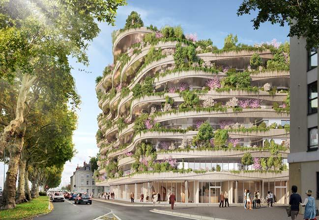 Arboricole,由Vincent Callebaut Architectures