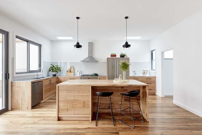 Cameron Street Coburg House by Sustainable Homes