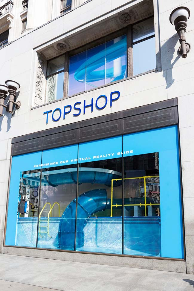 Topshop Splash by YourStudio