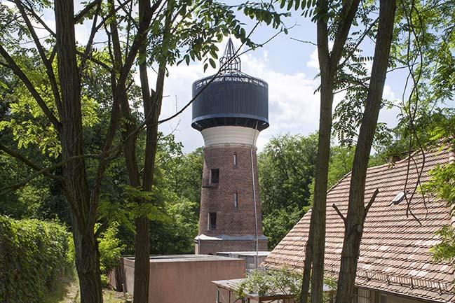 Watertower Rehabilitation in Potsdam by Wirth Alonso Architekten
