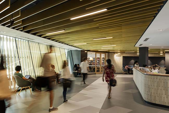Sir Louis Matheson Library by Cox Architecture