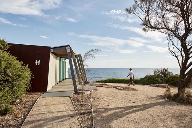 Foreshore Amenities in Sandringham by Zen Architects