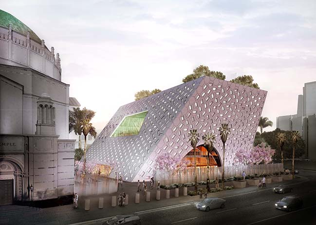 Audrey Irmas Pavilion in Los Angeles by OMA