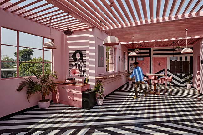 The Pink Zebra by Renesa Architecture Design Interiors