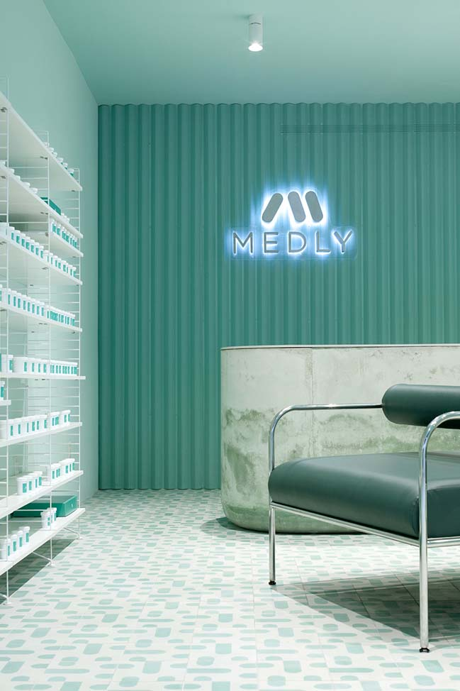Medly Pharmacy in Brooklyn by Sergio Mannino Studio